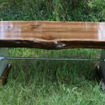 Urban Industrial Walnut Table $1100